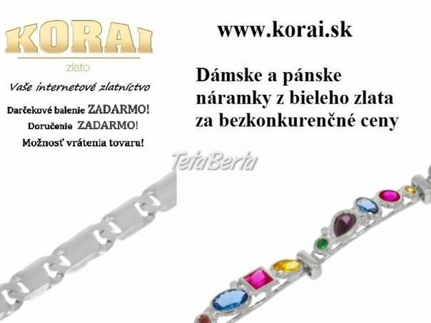 Náramky z bieleho zlata KORAI, foto 1 Móda, krása a zdravie, Hodinky a šperky | Tetaberta.sk - bazár, inzercia zadarmo