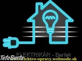 Elektrikár Bratislava + okolie , Hobby, voľný čas, Šport a cestovanie    Tetaberta.sk - bazár, inzercia zadarmo