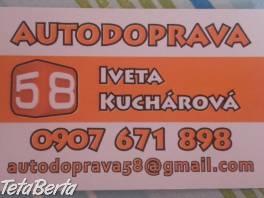 autodoprava 58 , Obchod a služby, Preprava tovaru  | Tetaberta.sk - bazár, inzercia zadarmo