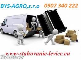 sťahovanie-autodoprava-levice , Obchod a služby, Preprava tovaru    Tetaberta.sk - bazár, inzercia zadarmo