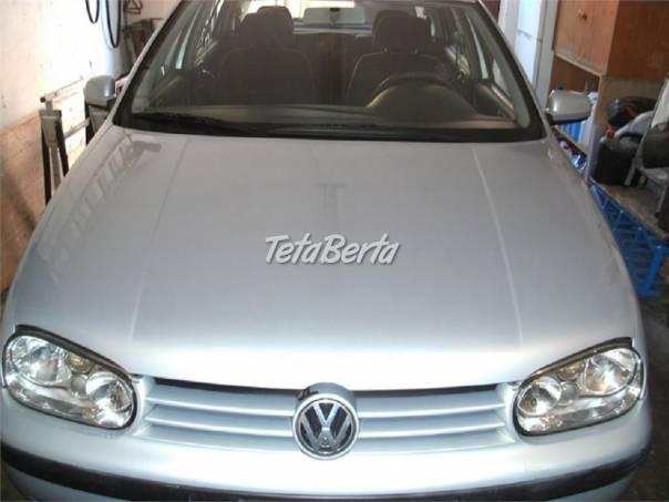 Volkswagen Golf golf 1.9 tdi,81kw,r.v.2000, foto 1 Auto-moto, Automobily | Tetaberta.sk - bazár, inzercia zadarmo