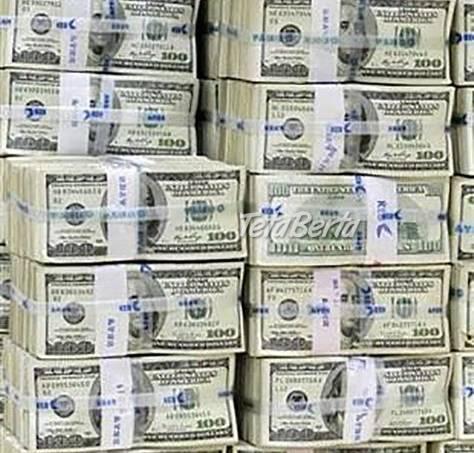 Ponúkame 100% peniaze s naozaj nízkym záujmom, foto 1 Obchod a služby, Ostatné   Tetaberta.sk - bazár, inzercia zadarmo