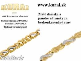 Zlaté náramky KORAI , Móda, krása a zdravie, Hodinky a šperky  | Tetaberta.sk - bazár, inzercia zadarmo