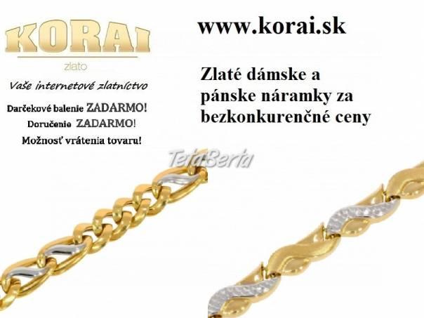 Zlaté náramky KORAI, foto 1 Móda, krása a zdravie, Hodinky a šperky | Tetaberta.sk - bazár, inzercia zadarmo