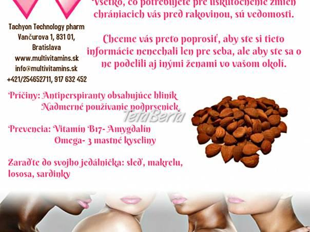 Rakovina prsníka, liečba, prevencia, alternatívna medicína, foto 1 Móda, krása a zdravie, Ostatné | Tetaberta.sk - bazár, inzercia zadarmo