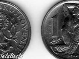 Predám mincu 1 koruna 1946 /kovová/