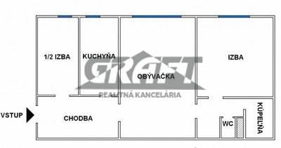 GRAFT ponúka 3-izb. byt Teplická ul. Nové Mesto , foto 1 Reality, Byty | Tetaberta.sk - bazár, inzercia zadarmo