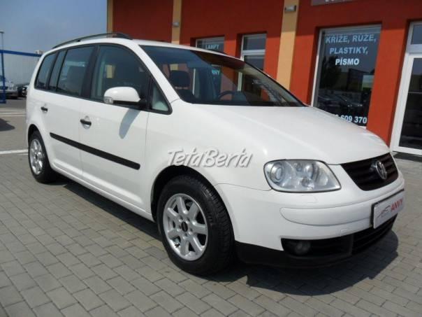 Volkswagen Touran 1,6 FSI, ALU, DIGI KLIMA, foto 1 Auto-moto, Automobily | Tetaberta.sk - bazár, inzercia zadarmo