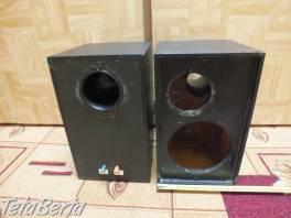 Predám drevené ozvučnice pre reproduktory. , Elektro, Reproduktory, mikrofóny, slúchadlá  | Tetaberta.sk - bazár, inzercia zadarmo