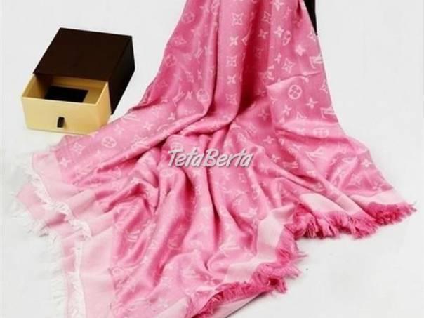 Ružová šatka b8a0fb7c154