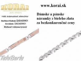 Náramky z bieleho zlata od KORAI šperky , Móda, krása a zdravie, Hodinky a šperky  | Tetaberta.sk - bazár, inzercia zadarmo