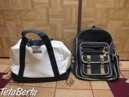 Predám kabelku a ruksak. 1ks - 5€. , Móda, krása a zdravie, Kabelky a tašky  | Tetaberta.sk - bazár, inzercia zadarmo