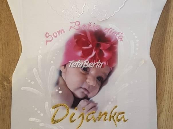 Košieľky na krst s fotografiou, foto 1 Pre deti, Detské oblečenie | Tetaberta.sk - bazár, inzercia zadarmo