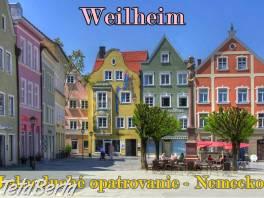Weilheim – ĽAHKÉ OPATROVANIE BEZ NOČNÉHO VSTÁVANIA , Práca, Zdravotníctvo a farmácia    Tetaberta.sk - bazár, inzercia zadarmo