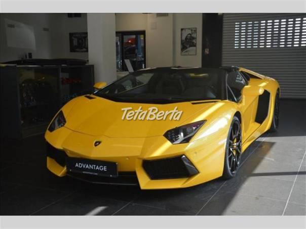 Lamborghini Aventador 6.5 LP 700-4 Roadster, foto 1 Auto-moto, Automobily | Tetaberta.sk - bazár, inzercia zadarmo