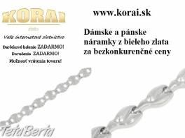 Náramky z bieleho zlata od KORAI , Móda, krása a zdravie, Hodinky a šperky  | Tetaberta.sk - bazár, inzercia zadarmo