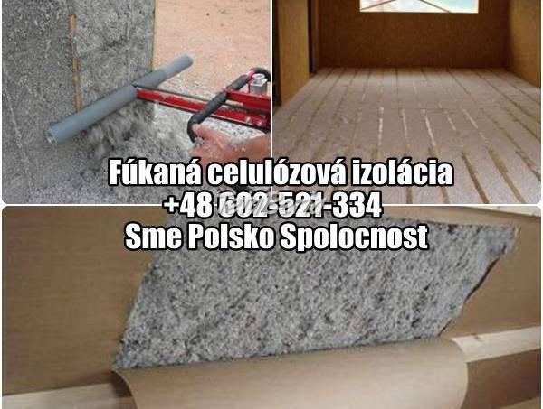 Fúkaná celulózová izolácia, Polsko Spolocnost, foto 1 Obchod a služby, Ostatné | Tetaberta.sk - bazár, inzercia zadarmo