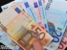 Ponúkam pôžičky vážnym ľuďom , Obchod a služby, Preklady, tlmočenie a korektúry  | Tetaberta.sk - bazár, inzercia zadarmo