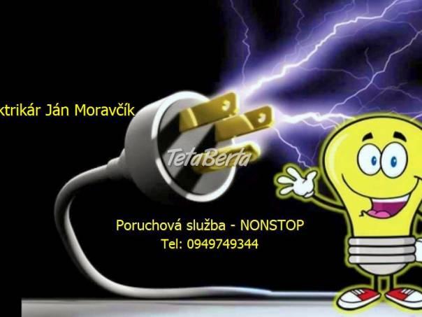 Elektrikár Bratislava – Dúbravka, foto 1 Elektro, Servis a inštalácia   Tetaberta.sk - bazár, inzercia zadarmo