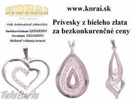 Z bieleho zlata prívesky KORAI , Móda, krása a zdravie, Hodinky a šperky  | Tetaberta.sk - bazár, inzercia zadarmo