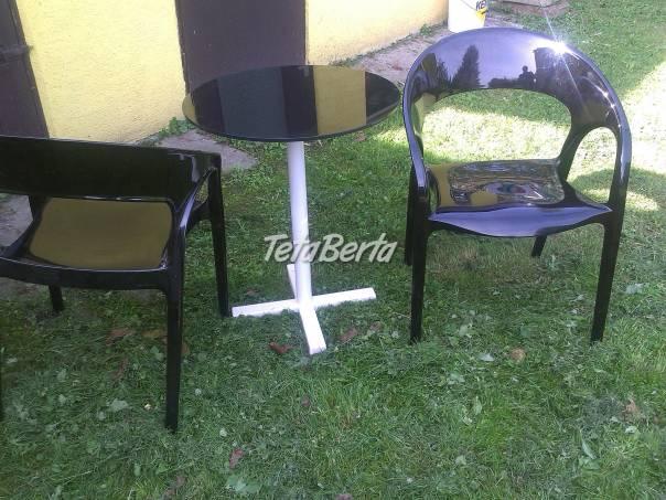 Konferenční stolek + 2 stoličky, foto 1 Dom a záhrada, Stoly, pulty a stoličky | Tetaberta.sk - bazár, inzercia zadarmo