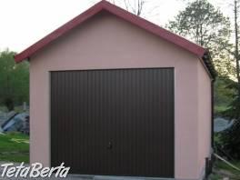 Montovaná garáž - omítka , Reality, Garáže, parkovacie miesta    Tetaberta.sk - bazár, inzercia zadarmo