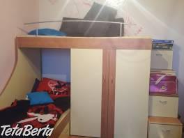 Poschodova posteľ so skrinou , Pre deti, Detský nábytok  | Tetaberta.sk - bazár, inzercia zadarmo
