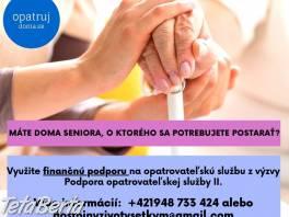 Domáca opatrovateľská služba v Košickom kraji , Obchod a služby, Ostatné  | Tetaberta.sk - bazár, inzercia zadarmo