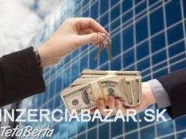 ponuka pôžičky pre všetky vaše finančné potreby , Obchod a služby, Financie  | Tetaberta.sk - bazár, inzercia zadarmo