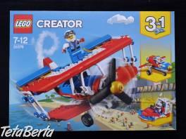 Lego Creator Odvážne kaskadérske lietadlo 3v1                        , Pre deti, Hračky  | Tetaberta.sk - bazár, inzercia zadarmo
