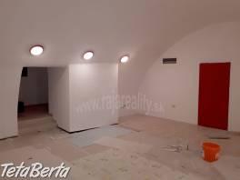Suterénny priestor 250 m2 po rekonštrukcii