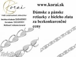 Retiazky z bieleho zlata od KORAI , Móda, krása a zdravie, Hodinky a šperky  | Tetaberta.sk - bazár, inzercia zadarmo