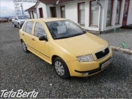 Škoda Fabia 1,4 MPi,servisCZ,tažné zař. , Auto-moto, Automobily  | Tetaberta.sk - bazár, inzercia zadarmo