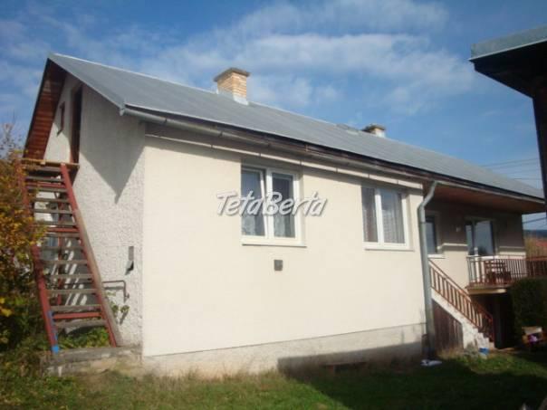 Super rodinný dom/chalupa na Bacúchu - rezervované, foto 1 Reality, Domy | Tetaberta.sk - bazár, inzercia zadarmo