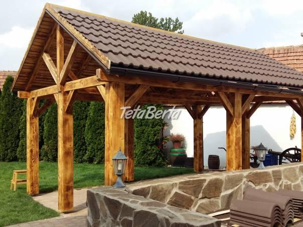 Altánok alebo prístrešok pre vaše auto., foto 1 Dom a záhrada, Záhradný nábytok, dekorácie | Tetaberta.sk - bazár, inzercia zadarmo