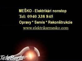 Elektrikár Bratislava - nonstop , Dom a záhrada, Opravári a inštalatéri    Tetaberta.sk - bazár, inzercia zadarmo