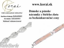 Náramky z bieleho zlata KORAI , Móda, krása a zdravie, Hodinky a šperky    Tetaberta.sk - bazár, inzercia zadarmo