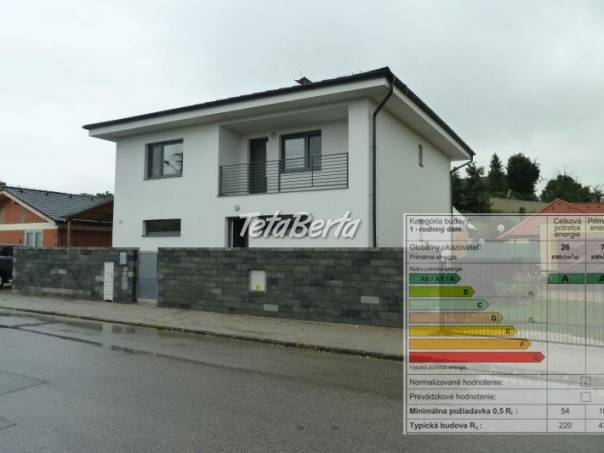 Energetický certifikát rodinného domu, foto 1 Reality, Domy | Tetaberta.sk - bazár, inzercia zadarmo