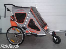 prívesný dvojmiestny vozík za bicykel , Pre deti, Ostatné  | Tetaberta.sk - bazár, inzercia zadarmo
