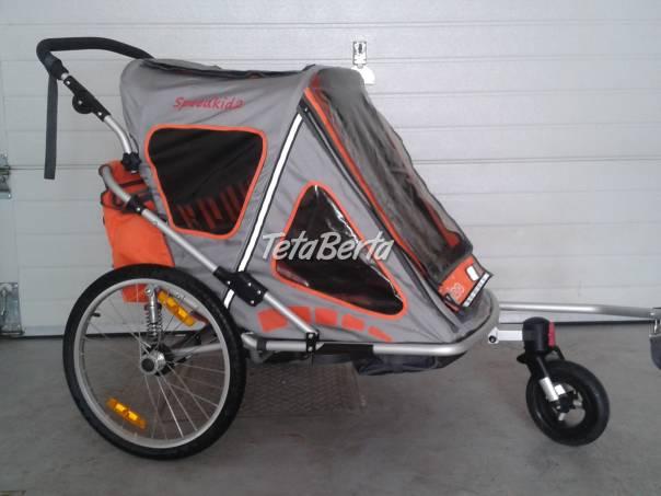 prívesný dvojmiestny vozík za bicykel, foto 1 Pre deti, Ostatné | Tetaberta.sk - bazár, inzercia zadarmo