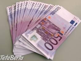Poskytovanie a financovanie úverov , Obchod a služby, Financie  | Tetaberta.sk - bazár, inzercia zadarmo