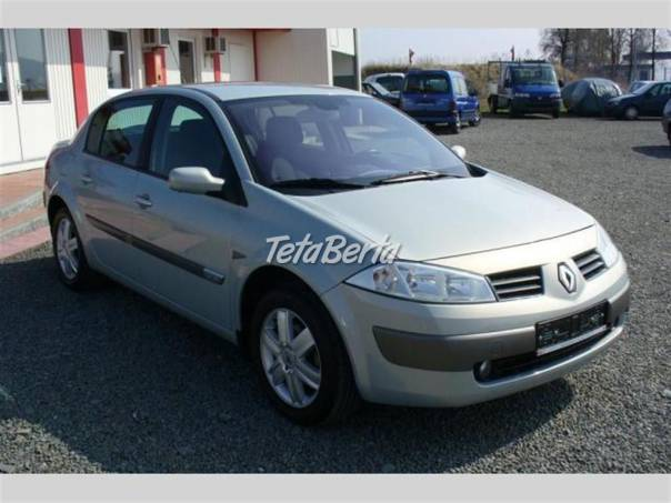 Renault Mégane 1.6 16V, serviska, Aut. Klima, ALU- Pneu  nové, foto 1 Auto-moto, Automobily | Tetaberta.sk - bazár, inzercia zadarmo