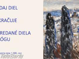 Poaukčný predaj výtvarných diel v galérii Art Invest
