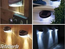 Solárne nástenné LED svietidlo  , Dom a záhrada, Svietidlá, koberce a hodiny  | Tetaberta.sk - bazár, inzercia zadarmo