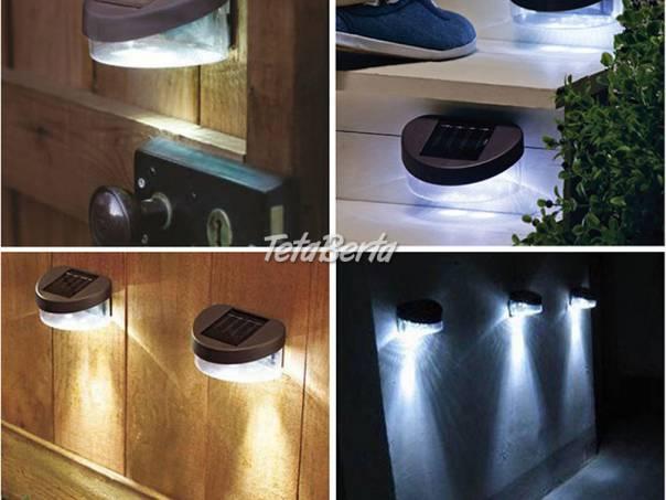 Solárne nástenné LED svietidlo , foto 1 Dom a záhrada, Svietidlá, koberce a hodiny | Tetaberta.sk - bazár, inzercia zadarmo