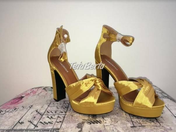 Sandále Glamorous - NOVÉ, foto 1 Móda, krása a zdravie, Obuv | Tetaberta.sk - bazár, inzercia zadarmo