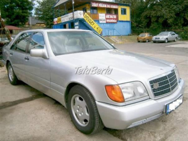 Mercedes-Benz Třída S 500 SEL 8V MAMUT, foto 1 Auto-moto, Automobily | Tetaberta.sk - bazár, inzercia zadarmo