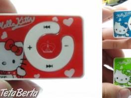 Hello Kitty mp3 prehrávač , Elektro, MP3, audio    Tetaberta.sk - bazár, inzercia zadarmo
