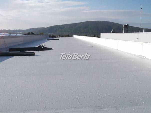 Hydroizolácie plochých striech, foto 1 Dom a záhrada, Stavba a rekonštrukcia domu | Tetaberta.sk - bazár, inzercia zadarmo