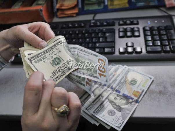 potrebujú osobnú investíciu, foto 1 Obchod a služby, Financie | Tetaberta.sk - bazár, inzercia zadarmo
